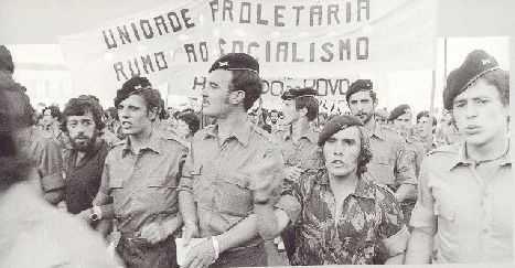 As Forças Armadas engajadas no PREC