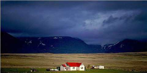 Paisagem islandesa