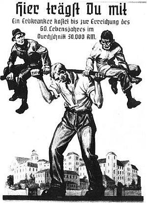 eutanasia propaganda nazi web
