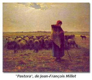 pastora de Jean-François_Millet