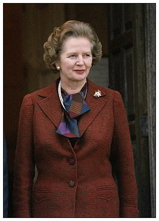 Margaret Thatcher web