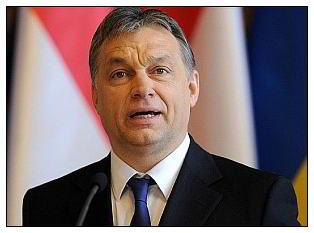 Viktor Orban primeiro ministro da Hungria