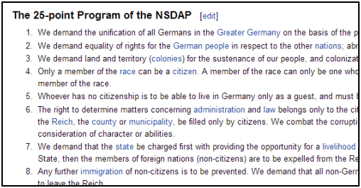 nsdap party