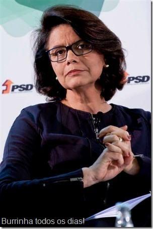 A secretária-de-estado Teresa Morais e a homofobia