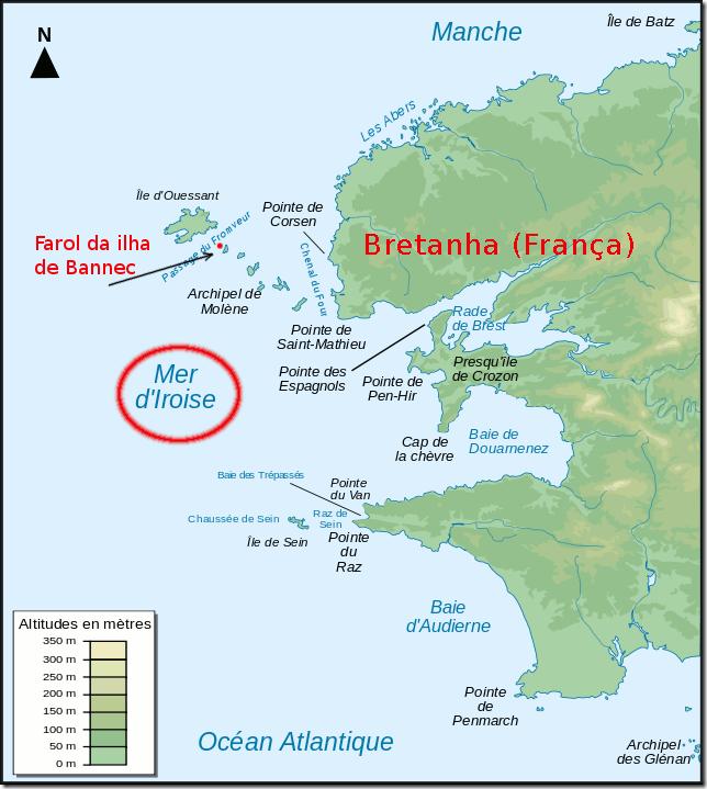 farol da ilha Bannec Bretanha