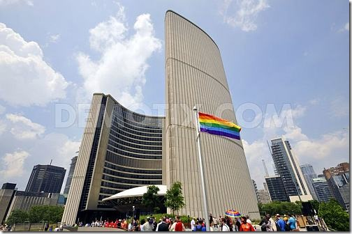 mayor-rob-ford-finally-attends-pride-torontos-flag-raising-ceremony
