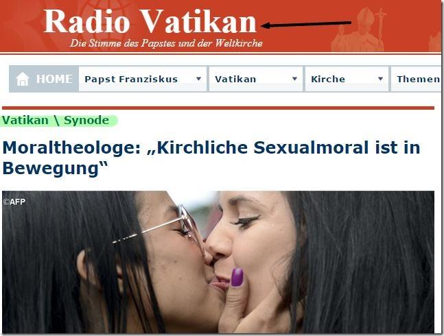 Kirchliche Sexualmoral ist in Bewegung
