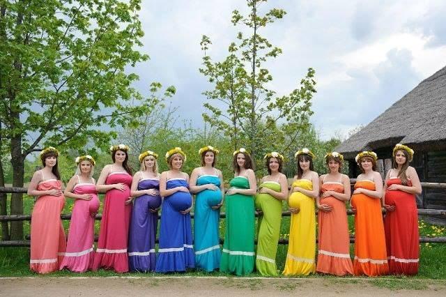 verdadeiras core do arco iris