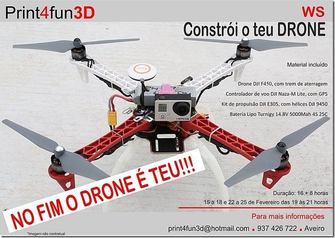 contrução-de-drones