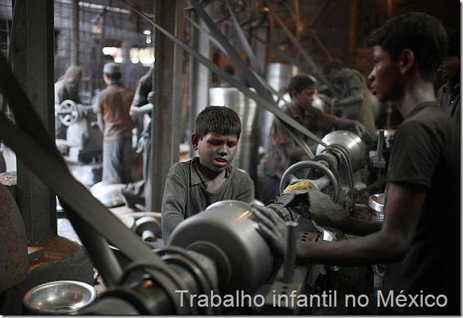 trabalho infantil no mexico