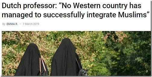 Dutch professor integrate Muslims