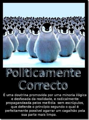 politicamente correcto gráfico web