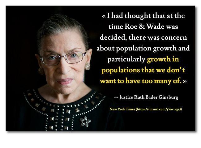 Justice Ruth Bader Ginsburg web
