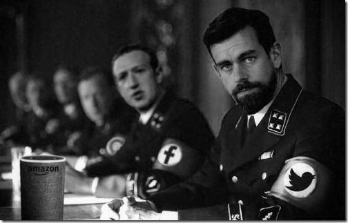 social media nazis web